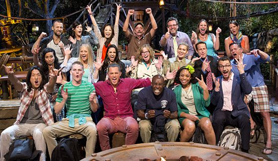 Survivor Second Chance cast