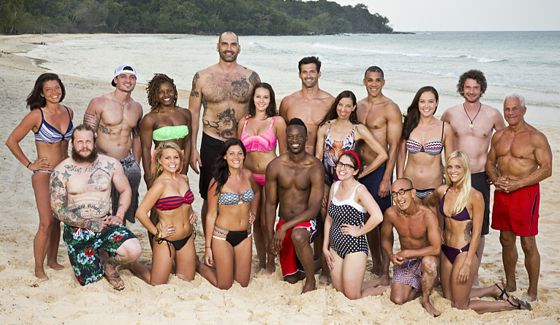 Survivor 2016 cast on Kaoh Rong's Brains vs Beauty vs Brawn
