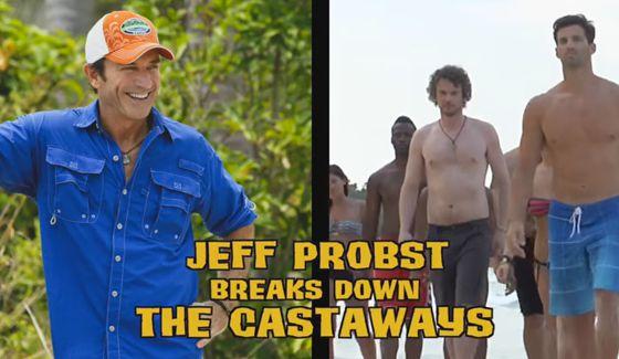 Jeff Probst & Survivor 2016 cast review