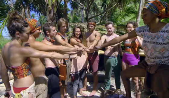 Survivor 2016's Millennial tribe draws stones