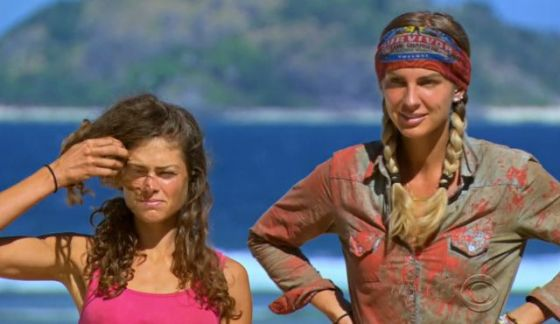 Hali and Sierra on Survivor 2017 Game Changers - Source: CBS/YouTube