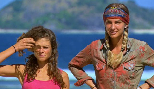 Hali and Sierra on Survivor 2017 Game Changers - Source: CBS/YouTube