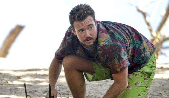 Zeke Smith on Survivor 2017