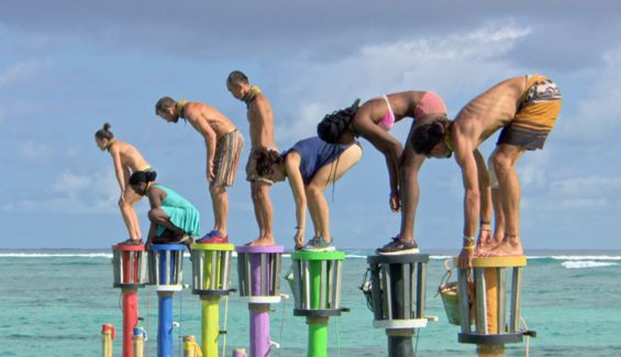 Survivor 2017 castaways compete for immunity