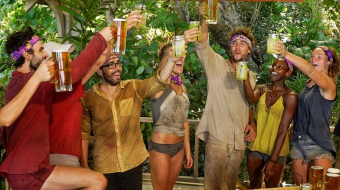 Survivor 2017 Epi 07 Merge Celebration