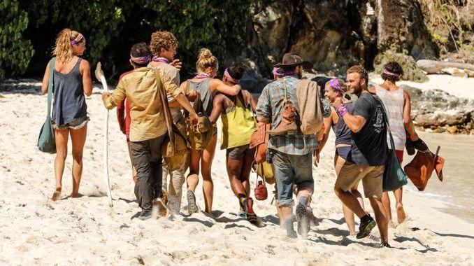 Survivor 2017 S35 Tribe Merge