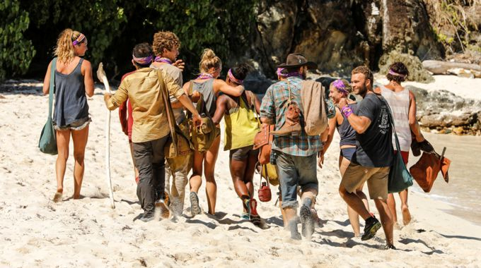 Survivor 2017 S35 Tribe Merge