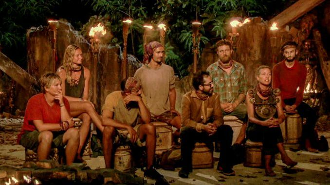Survivor 2017 Tribal Council - Episode 11
