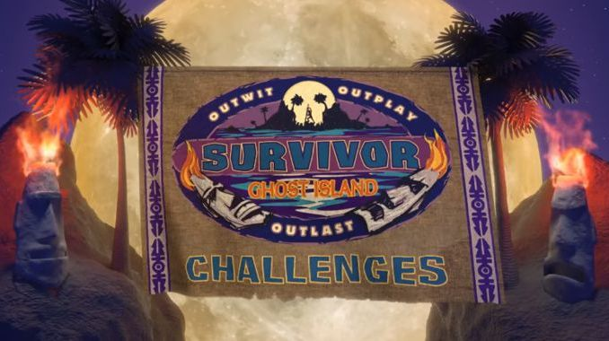 Survivor 2018 S36 Ghost Island challenges