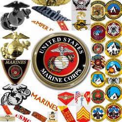 Marine Decals Stickers Emblems
