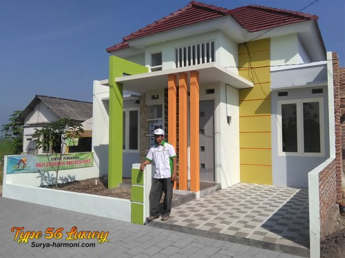 Type 56 Luxury Tampak Samping Kanan