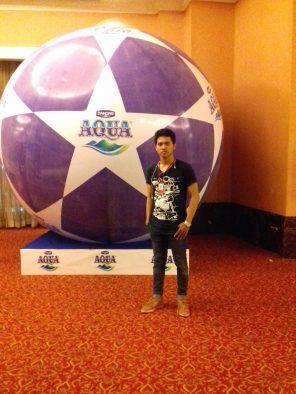 bola balon - surya balon