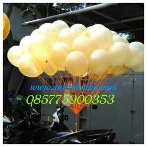balon peresmian