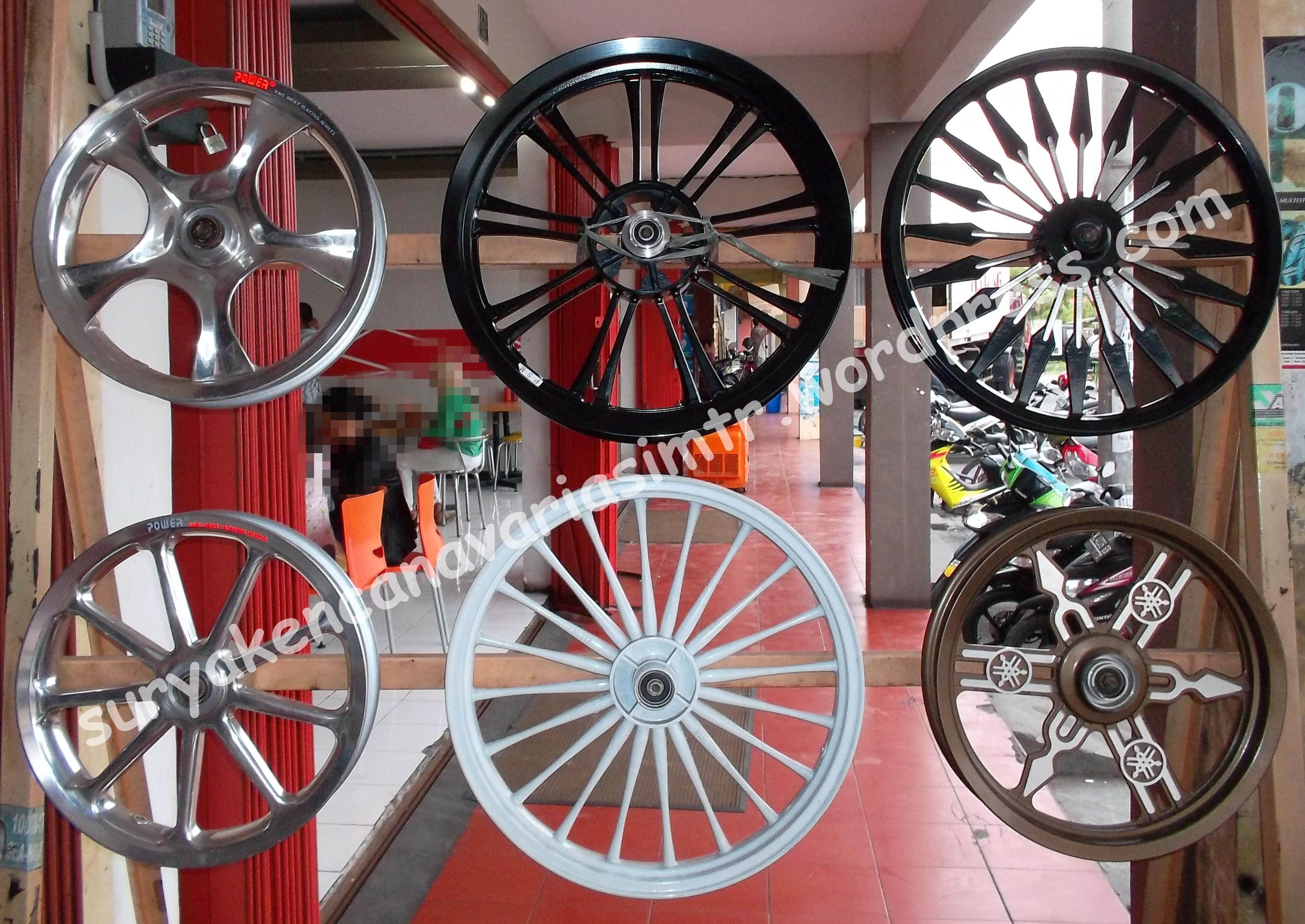 Gambar Harga Velg Mobil Ring 14 15 16 17 18 Racing di