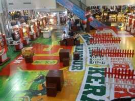 Pameran PKP Gebyar Merdeka di Atrium BCS Mall, Baloi.