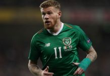 James McClean, gelandang Irlandia. (joe.ie)