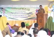Plt Gubernur Kepulauan Riau H Isdianto Saat Acara Peremsian Gedung Baru SLBN 1 Tanjungpinang di Jl Kijang Lama, Km 7 Tanjungpinang, Senin (27/1/2020).