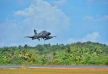 Ilustrasi, pesawat tempur milik TNI AU saat melintas di langit Tanjungpinang (Suryakepri.com/istimewa)