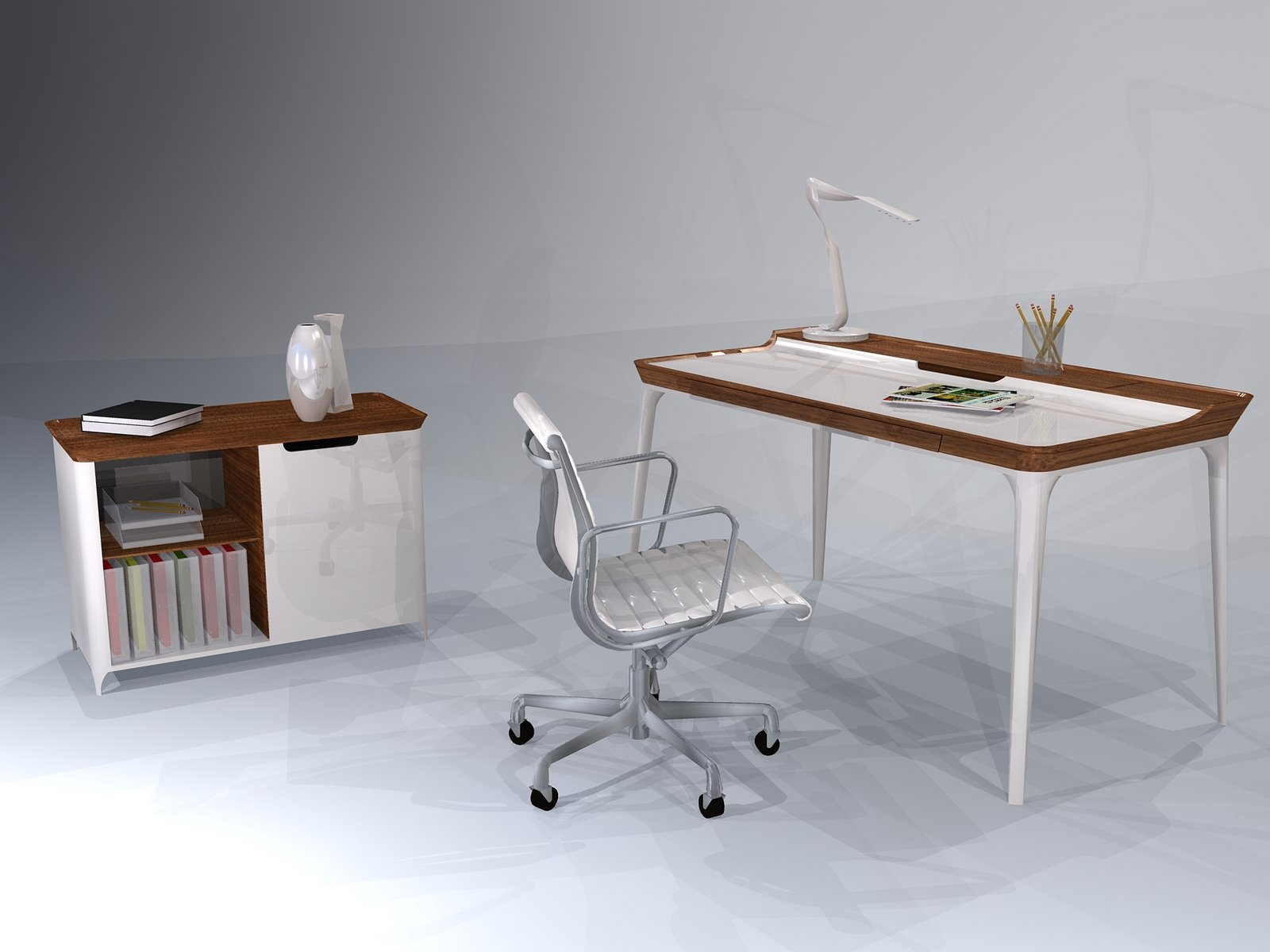 Schon Home Office Desk Herman Miller
