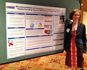 Presenting my research at the 2013 Lamaze International Conference in New Orleans