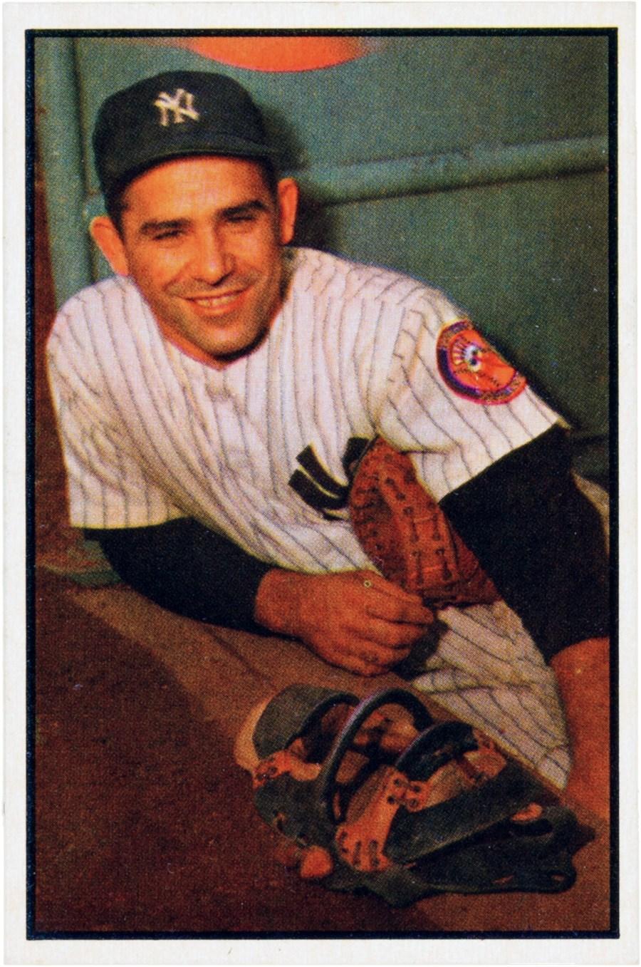 1953_Bowman_Yogi_Berra