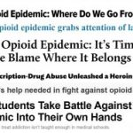 The Opioid Epidemic? Just the Facts, Please.
