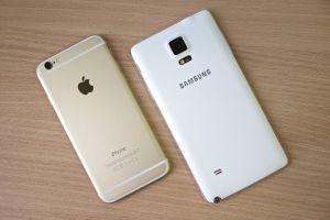 samsung iphone
