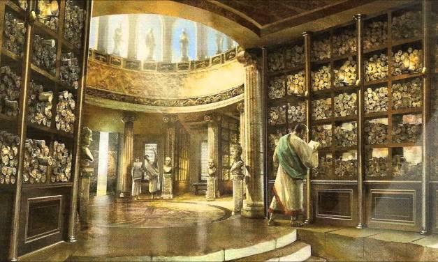 La biblioteca de Alejandría