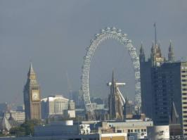 Big Ben y London Eye