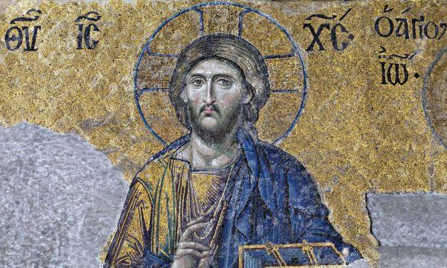 Arte Bizantino: Mosaico de la Déesis de Santa Sofía