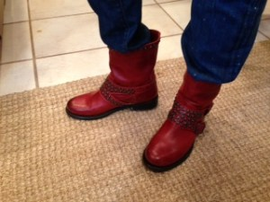 My Writing Boots