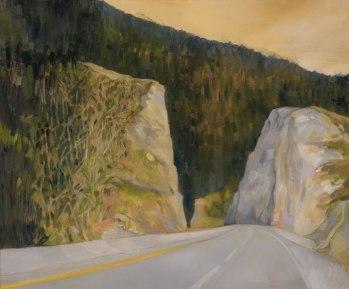 "PASSAGES 1, 20""x20"", oil on canvas"