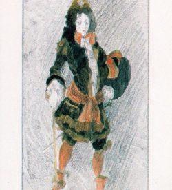 STRATFORD FESTIVAL, THE RELAPSE, costume design Foppington