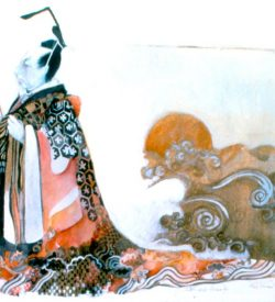 THE MIKADO, costume design, 1982