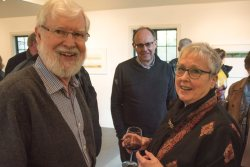 Duthie Opening, Susan Benson & husband Michael Whitfield
