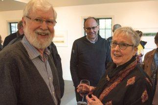 Duthie Opening, Susan Benson & husband Michael Whitfield