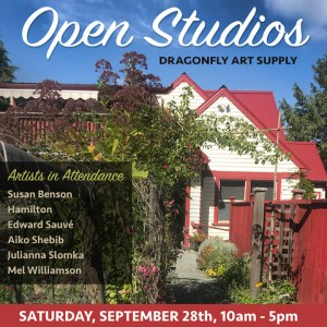OPEN STUDIOS, Saturday 28th September, 2019