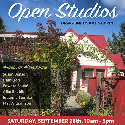 OPEN STUDIOS, Saturday 28th September, 2019