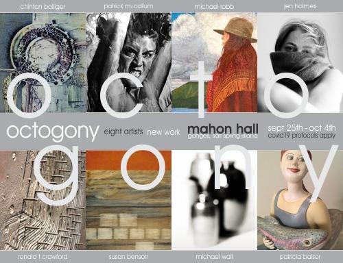 OCTOGONY,  Mahon Hall, SSI, Sept 25th - Oct 4th, 2020