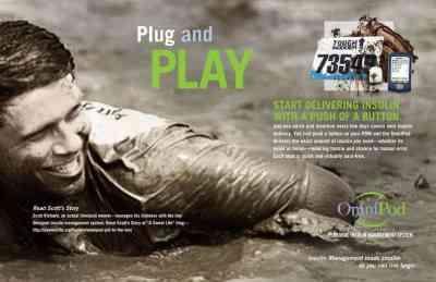 Omnipod Plug and Play Campaign-Ad 1