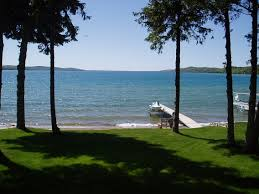 Lake MI from cottage
