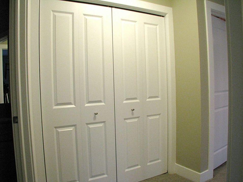 4-panel bi-fold closet doors
