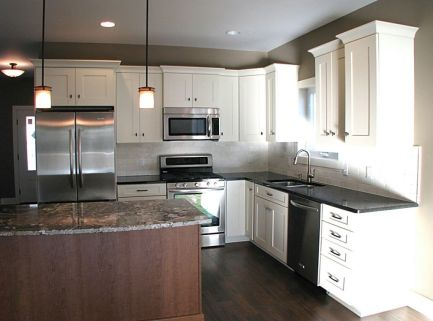 2447 Nuttall Court-Kitchen-Stainless steel dishwasher and double sink with high rise brushed nickel faucet