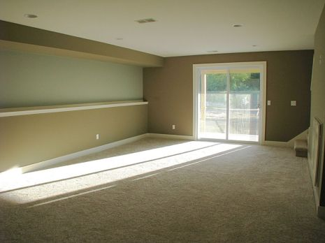 2447 Nuttall Court-Carpeted family room in the lower level-slider to covered backyard patio