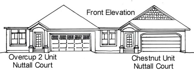 Front elevation of reversed Overcup 2 Unit