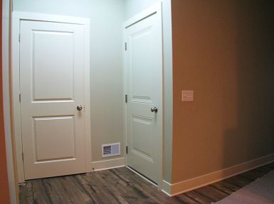 Back entry with large closet