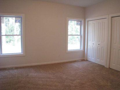 2444 Master bedroom. Closets with bi-fold 4 panel doors