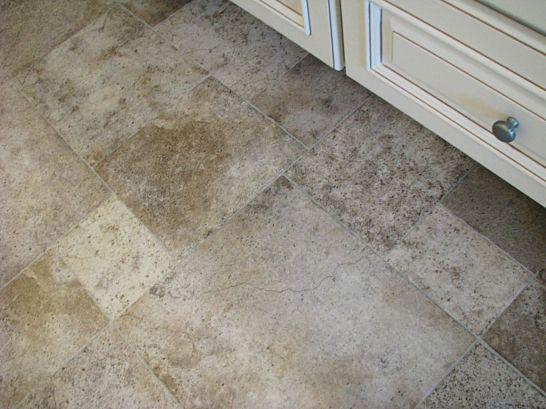 2430 Master bath ceramic tile floor