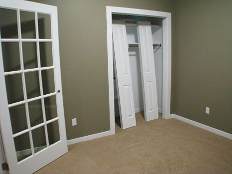 Office with closet.