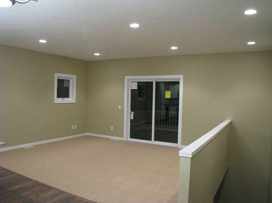 Living room slider to backyard deck.